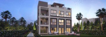 Distinctive villa in Hyde Park New Cairo