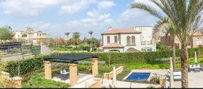 Villas in Uptown Cairo compound with an area of 473 meters