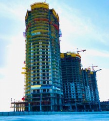 With an area of 100 meters Chalet in New Alamein Towers