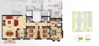Units With An Area of 173 m² in Mountain View Hyde Park