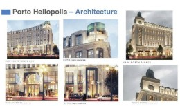 Apartments in Porto Heliopolis with an area of 141 meters