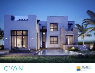 Stand Alone Villa With Area 165 m in Cyan El Gouna Resort