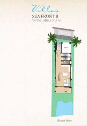 Villa With Area Of 303 m² in Blue Blue Ain Sokhna Resort.