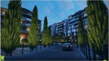 Apartment with area 175m² in Green Avenue