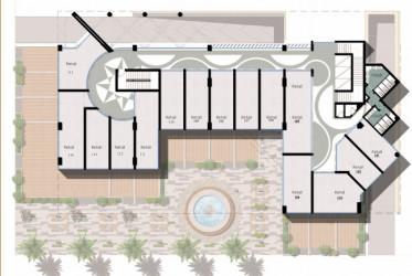 46 meter office in Vida Mall