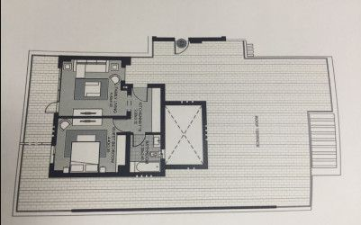 Master Plan  for penthouse 287 m  in Villette compound.