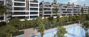 Villa for sale in Lake View Compound