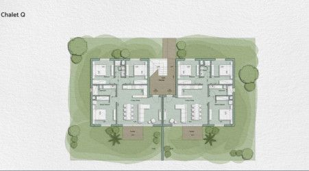 Planned chalet 110 meters in the Monte Galala