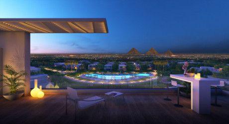 Amazing view in Villa in El Hadaba compound