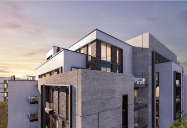 Apartments inside Swan Lake Residence