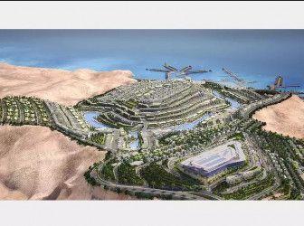 .شقة المونت جلالة العين السخنة بمساحة 75 متراً