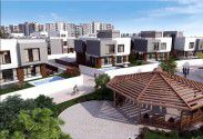 Townhouse with an area of 225 meters in Bleu Vert