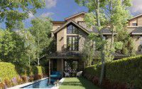 Villa with an area of 185m in The Marq Compound