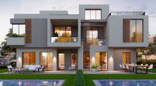 For Sale with space of 245 Twin house in Sodic East Heliopolis