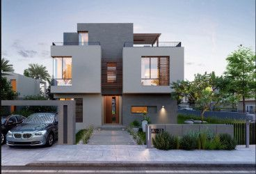 Villas with an area of 220 meters in Karamell Compound