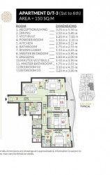 .شقة في كمبوند روزس العاصمة الادارية بمساحة 150 متر