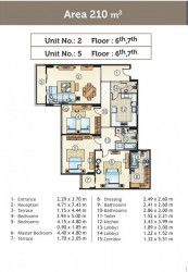 Units For Sale in Golden Yard With An Area of 210 m²