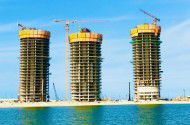 Apartment with area 210m² in New Alamein Towers