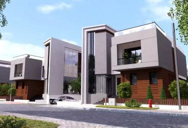 With an area of 291m Twin House for sale in Bleu Vert