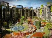 شقة بمساحة 181 متر في كمبوند كنز