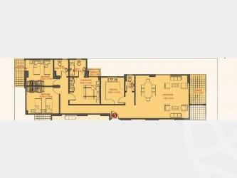 شقة بمساحة 162 متر في كمبوند البارون سيتي