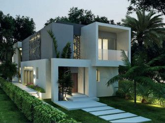 Villas in Badya Palm Hills compound with An Area of 371 m²