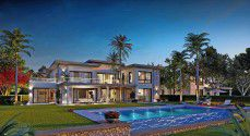 With an area of 267 meters Villas for sale in Swan Lake Residence