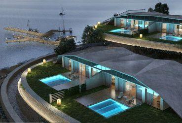 Chalet design at IL Monte Galala Resort