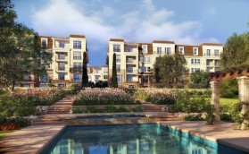 Apartments with an area of 113 m² in Sarai Compound