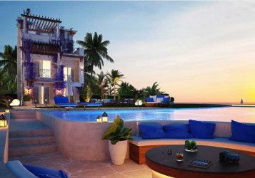 Villa with an area of 235 meters in Blue Blue Ain Sokhna Resort