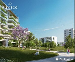 Apartments with An Area of 129 m² in IL Bosco New Capital.
