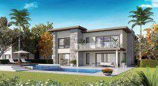Twin House 237 meters in Swan Lake Residence