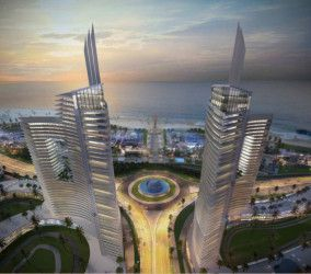 Chalet with area 150m² in New Alamein Towers