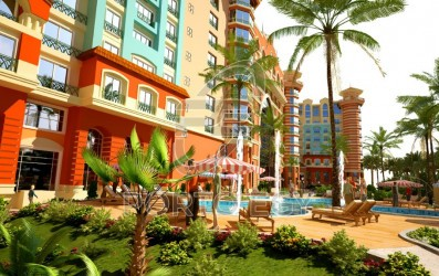 Apartments for sale in Porto New Cairo 50 meters