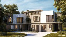 .Twin House area of 245 meters in  IL Bosco Misr Italy.