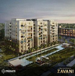 Apartments for sale in Zavani New Capital with spaces starting from 106 m.