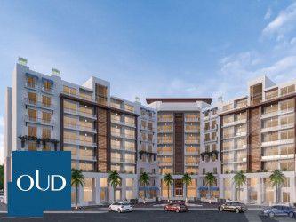 بمساحة 130 متر شقة في كمبوند جنوب