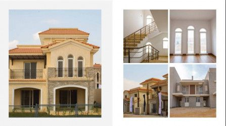Twin House In Al Maqsad New Capital 426m