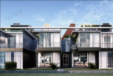 Twin house with Space of 260 in Bloom Fields