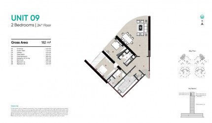 Apartments 182 m² Zahya compound by City Edge.
