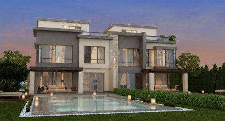 Villas with an area of 305 meters in Villette