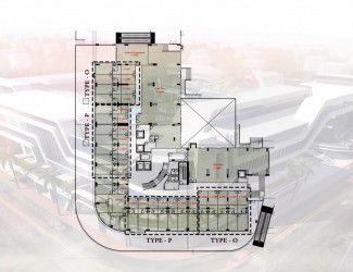 عيادة بمساحة 107 متراً في مول اوزون الطبي