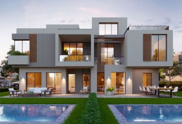 Twin House in  Sodic East New Heliopolis Compound.