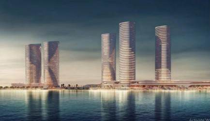 90 Meters Chalets for sale in North Edge Towers