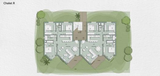 Chalet with garden in IL Monte Galala Resort