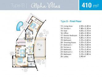 Villa 410 m in Marseilia Beach 4