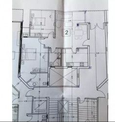 Apartment Plan area of 107 m² in Neopolis Mostakbal City compound.