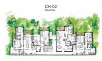 The exterior design for Chalet in Majada