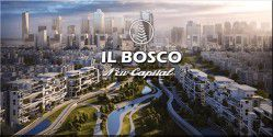 Apartment With An Area Of 182 m² in IL Bosco New Capital.