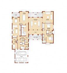 Villa with Area of 600 M in Marassi North Coast.